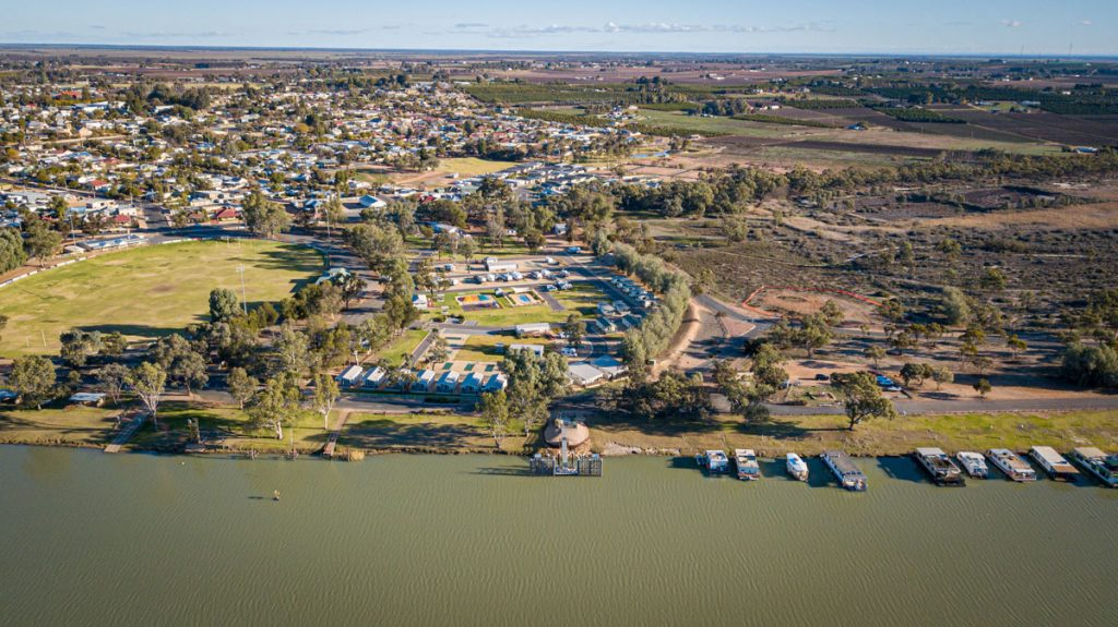 Aerial View of Waikerie