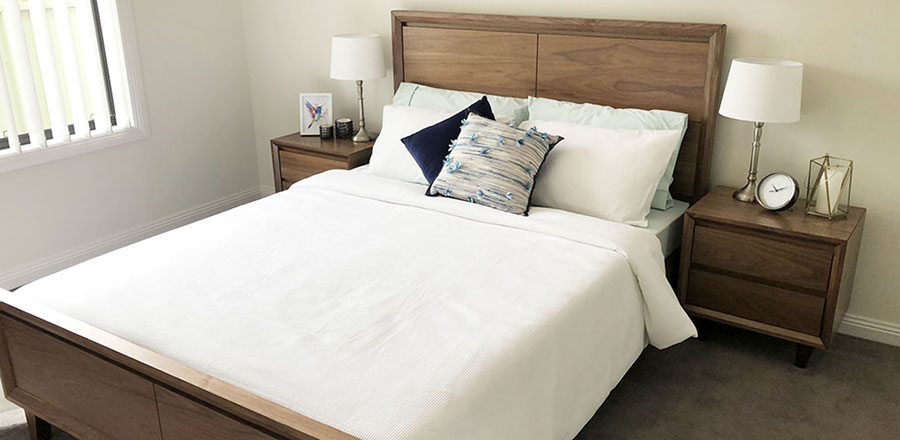 Spacious Bedroom with Cosy Bed