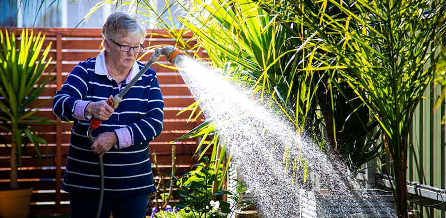 Watering the Gardens