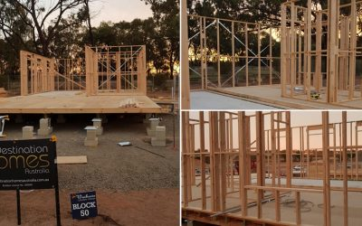 Construction Underway on House 50
